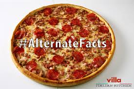 a pizza chain has introduced an u0027alternative facts u0027 pizza with
