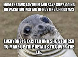 Tantrum Meme - livememe com uncomfortable situation seal