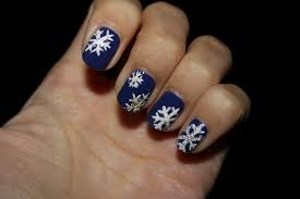 snowflake nails choose stamping or freehand youtube simple