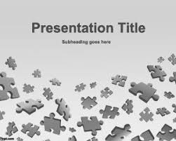 Puzzle Game Powerpoint Template Puzzle Powerpoint Template Free