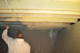 insulating basement ceiling joists room design ideas unique at