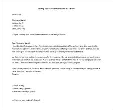 recommendation letter for a friend 15 free word excel pdf