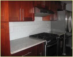 kitchen backsplash tile cherry cabinets interior design