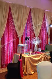 wedding backdrop gold backdrops rent in chicago and suburbs event decor by satin chair