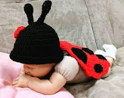 Ladybug Infant Halloween Costumes Ladybug Etsy