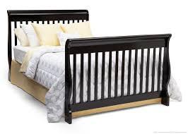 Delta Canton 4 In 1 Convertible Crib Black Canton 4 In 1 Crib Delta Children