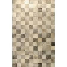 Cowhide Leather Rug Neutral Cowhide Leather Rug Products Bookmarks Design