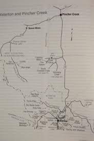 Banff National Park Map K7 Climbing Rockies Ice K7 Climbing