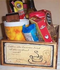 gift mugs with candy coffee gift basket 2 mugs candy creme syrup hot chocolatewood