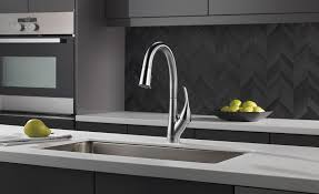delta pull kitchen faucet delta pull downn kitchen faucet 2017 03 23 plumbing and mechanical