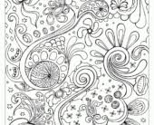 coloring pages abstract color pages abstract coloring pages for