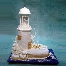 lighthouse cake topper lighthouse and dolphins wedding cake nature wedding cakes