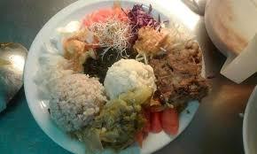 riz cuisiné la grande assiette macrobiotique riz complet millet legumes frais