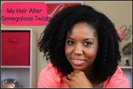 best seneglese twist hair my natural hair after senegalese twist youtube