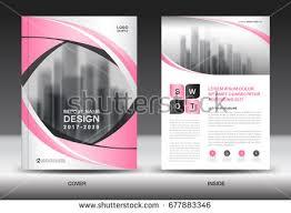annual report brochure flyer template purple imagem vetorial de