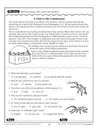 images of reading worksheets grade 7 sc