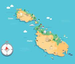 Malta World Map English Schools In Malta U0026 Gozo In Great Location U0026 Quality Facilities