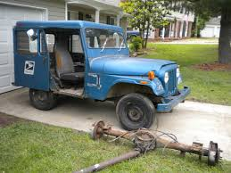 postal jeep lifted gone postal mail jeep build nc4x4