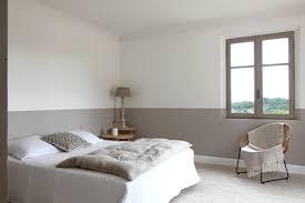 peinture mur chambre coucher chambre taupe et beige avec peinture murale chambre coucher avec
