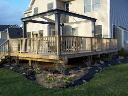 modern backyard deck design ideas materials of backyard deck