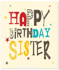 60 cute birthday wishes for sister