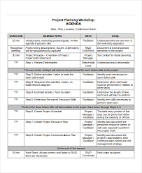 project agenda template 6 free word pdf documents download