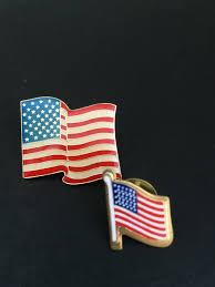Usa Flag Hats Pin Usa Flag Hat Lapel Pins Set Of 2 Sizes 6 00 Tayrose