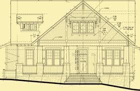 craftsman floor plans craftsman cottage plans a 4 bedroom carolina style house