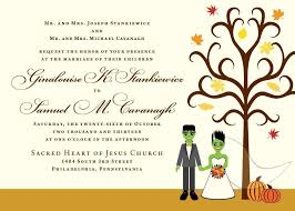 halloween wedding invitations disneyforever hd invitation card