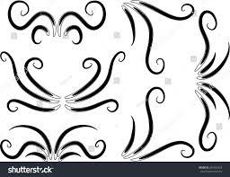 vector ornament lines stock vector 284762318