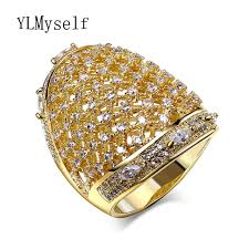 jewelry large rings images Awesome jewelry lovely big ring white and gold color paving jpg