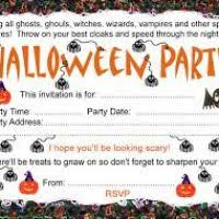 halloween birthday invitations free printable divascuisine com