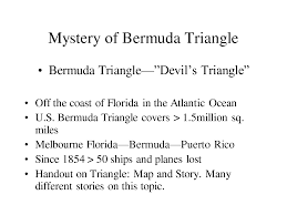 Bermuda Triangle Map Bermuda Triangle Pics And History Image Gallery Hcpr