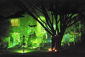 light fright seven unusual halloween light displays