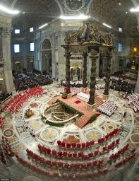 papal conclave cardinals are locked inside sistine chapel for