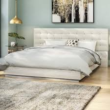Cheap Leather Bed Frame Modern Leather Beds Allmodern
