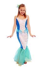 buy mermaid of the sea girls fancy dress costume ages 7 9 years