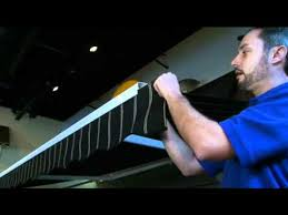 Marygrove Awnings General Valance Removal Service Video Marygrove Awnings Youtube