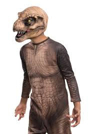 child jurassic world t rex 3 4 mask