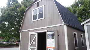 12 X 20 Barn Shed Plans Home Depot Outdoor Storage Barn Summer Wind 16 U0027 X 16 U0027 Sku 624 043