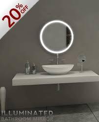 Bathroom Mirror Sale Backlit Bathroom Mirror 24 X 24 In 6000k Inventory Sale By