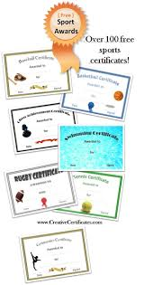 certificate rugby league certificate template