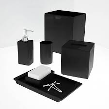 Red And Black Bathroom Accessories Sets Red Bathroom Accessories Sets U2013 Home Interior Plans Ideas
