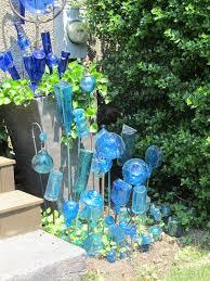 Glass Garden Decor 171 Best Garden Bottle Trees Images On Pinterest Wine Bottles