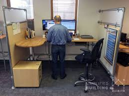 Computer Desk Height by Adjustable Height Desks For The Ideal Workspace Simplified Building