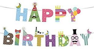 Amazon Happy Birthday Banner Birthday Decorations Premium