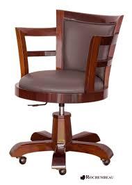 chaise de bureau en bois bureau bois