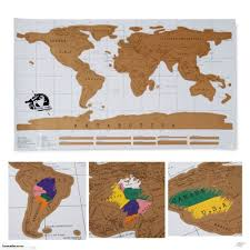 scratch off world map trade me