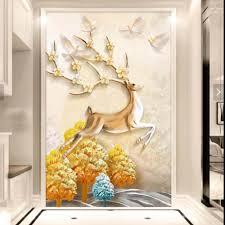 Hallway Wall Decor by Online Get Cheap Deer Wall Murals Aliexpress Com Alibaba Group