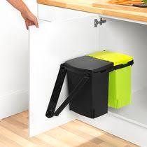 mülleimer küche einbau küchen abfalleimer zum einbauen stahl modern 418181